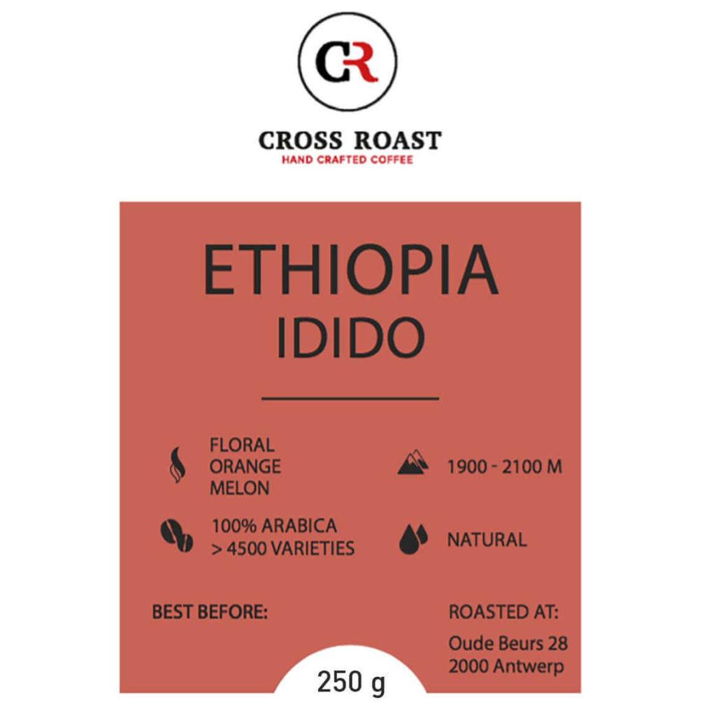 Ethiopia Idido koffiebonen