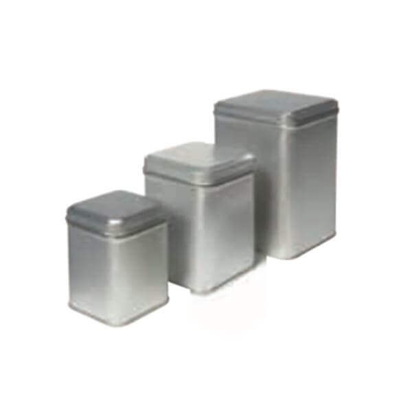 Theeblik zilver