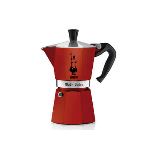 Mokka bordeaux koffiekan 6 tassen