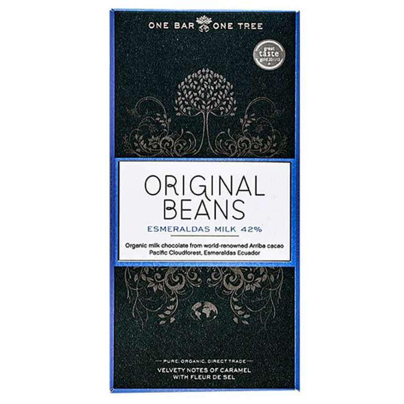 Original Beans Esmeraldas milk