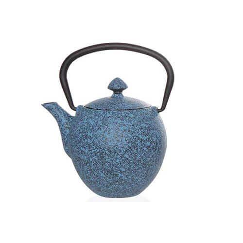 Pear Theepot met Filter blauw