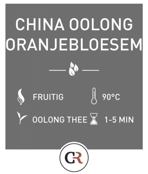 China oolong oranjebloesem