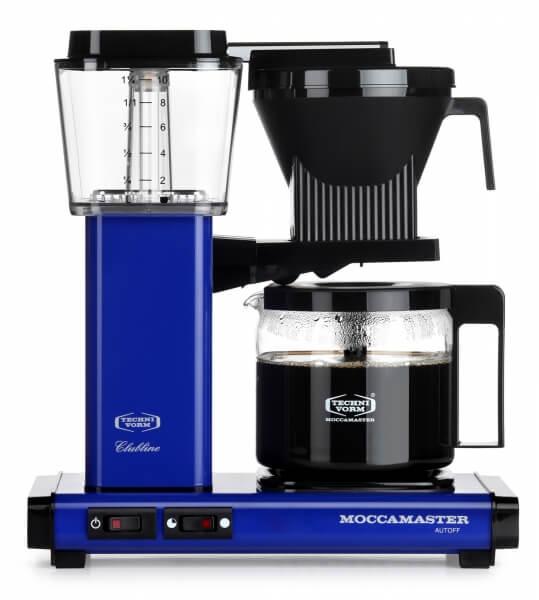 Moccamaster Koffiezetapparaat blauw