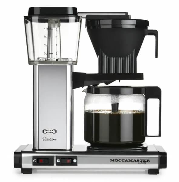 Moccamaster Koffiezetapparaat polished