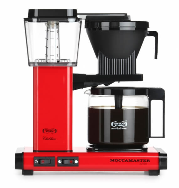 Moccamaster Koffiezetapparaat rood