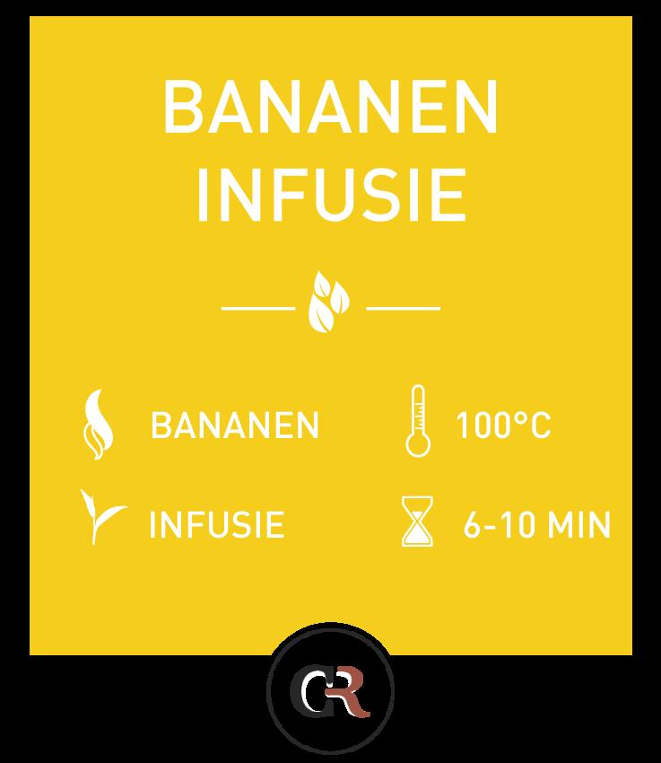 Bananen thee infusie