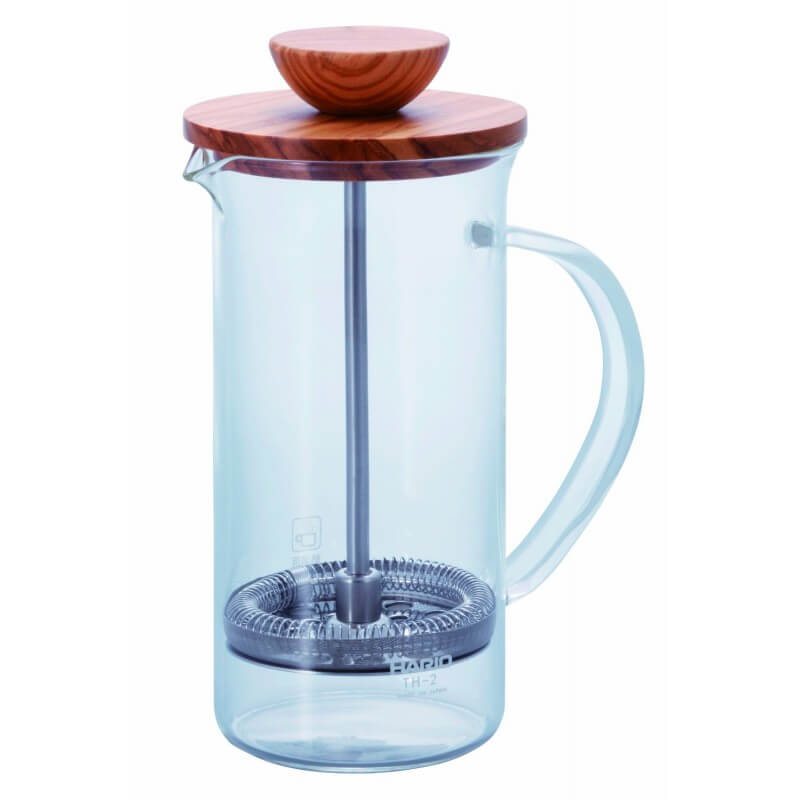 Tea Press Wood Hario 250 ml