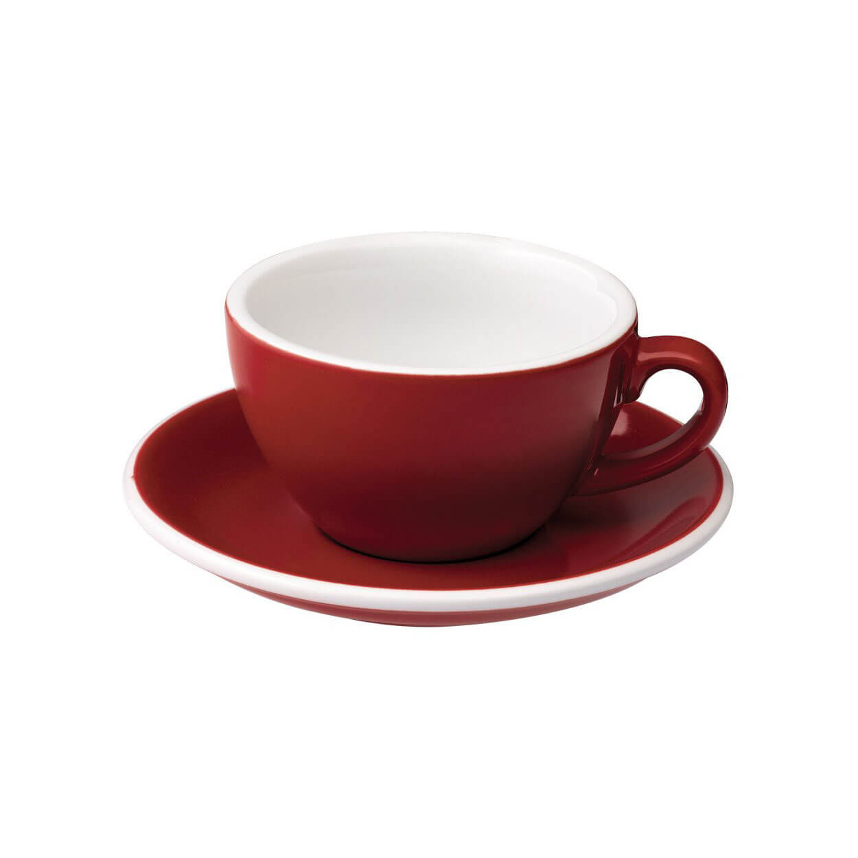 Loveramic Cappuccino Cup Espressotas Rood