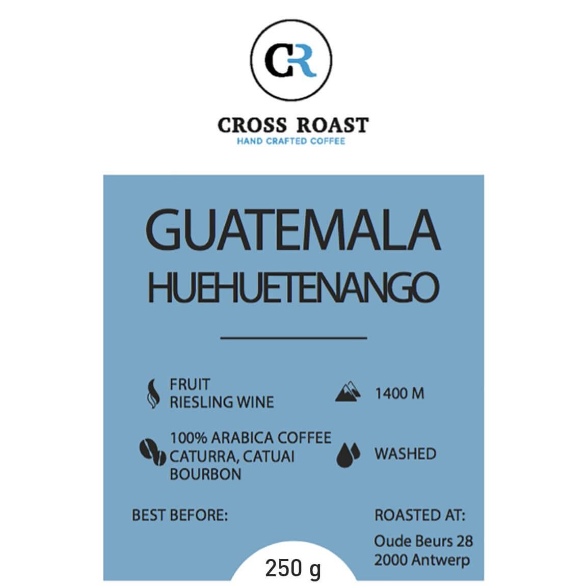 Guatemala bonen Huehuetenango