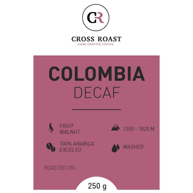 Koffiebonen Colombia decaf