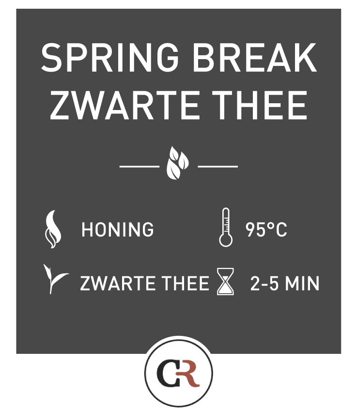 Springbreak Zwarte Thee