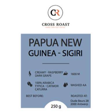 Papua New Guinea koffiebonen online bestellen  - Cross Roast 321bb980337