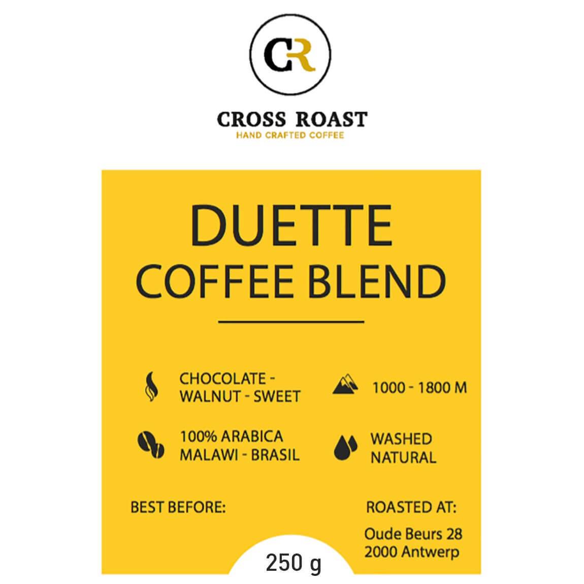 Duette Coffee Blend koffiebonen