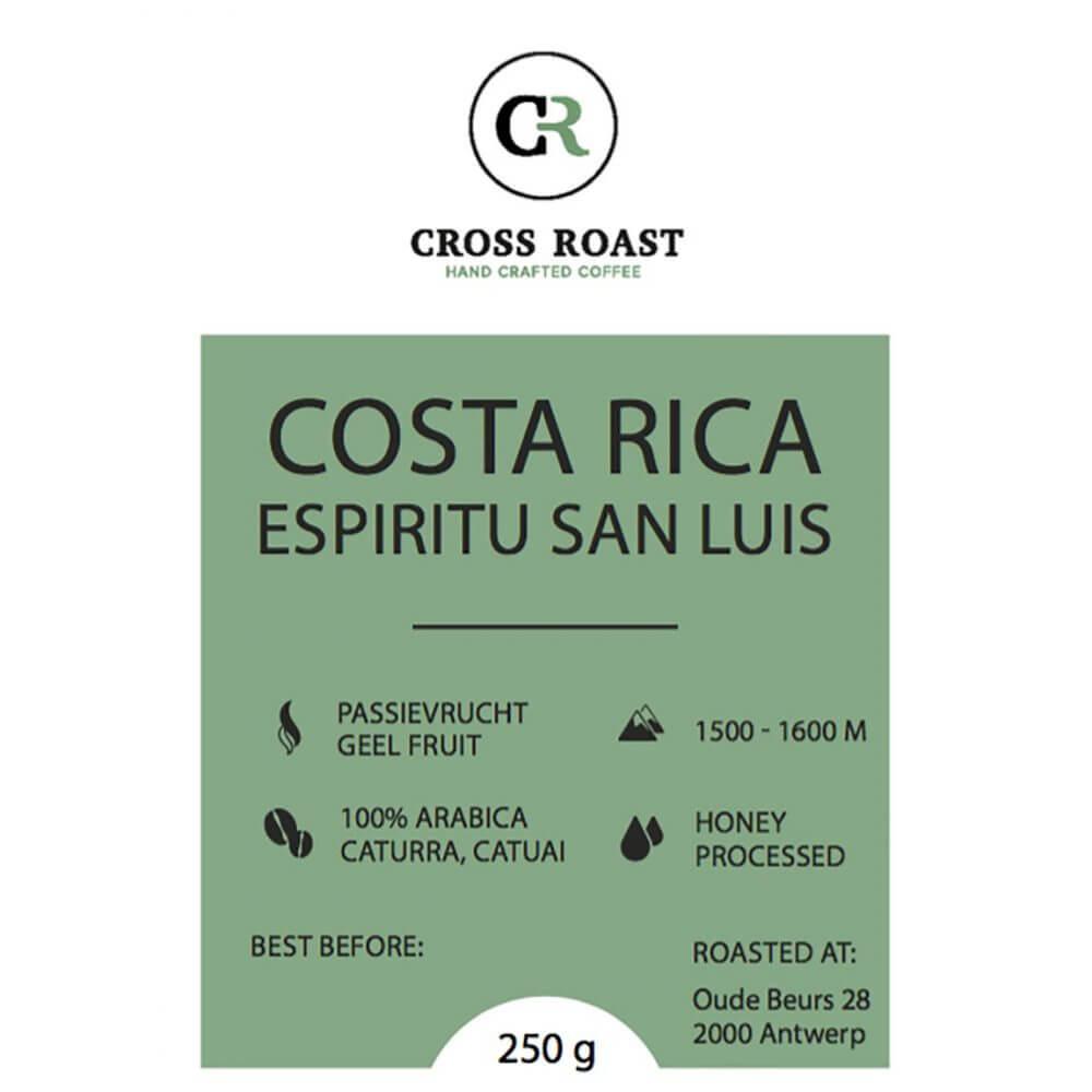 Costa Rica Espiritu San Luis September koffie van de maand