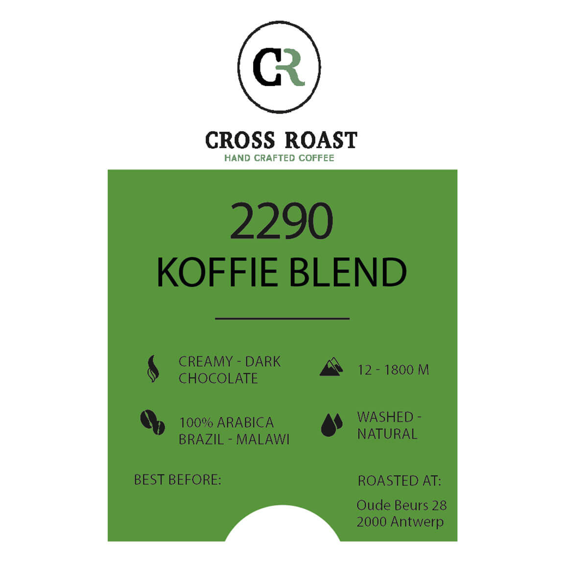2290 koffiebonen