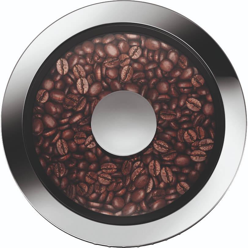 Detail koffiemolen Jura Ena 8