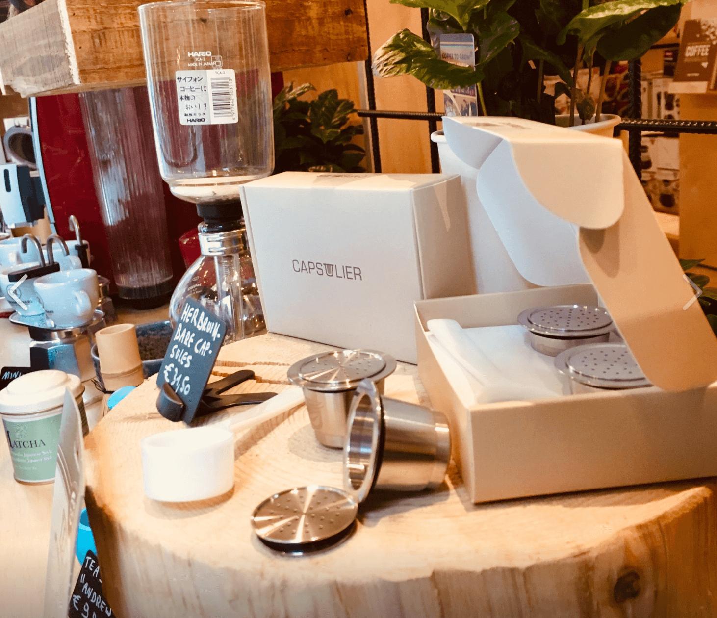 Herbruikbare Espresso Capsules Capsulier