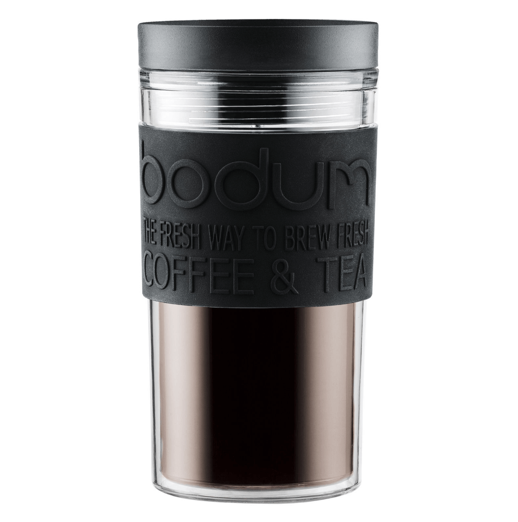 Bodum Travel Mug Zwart plastic