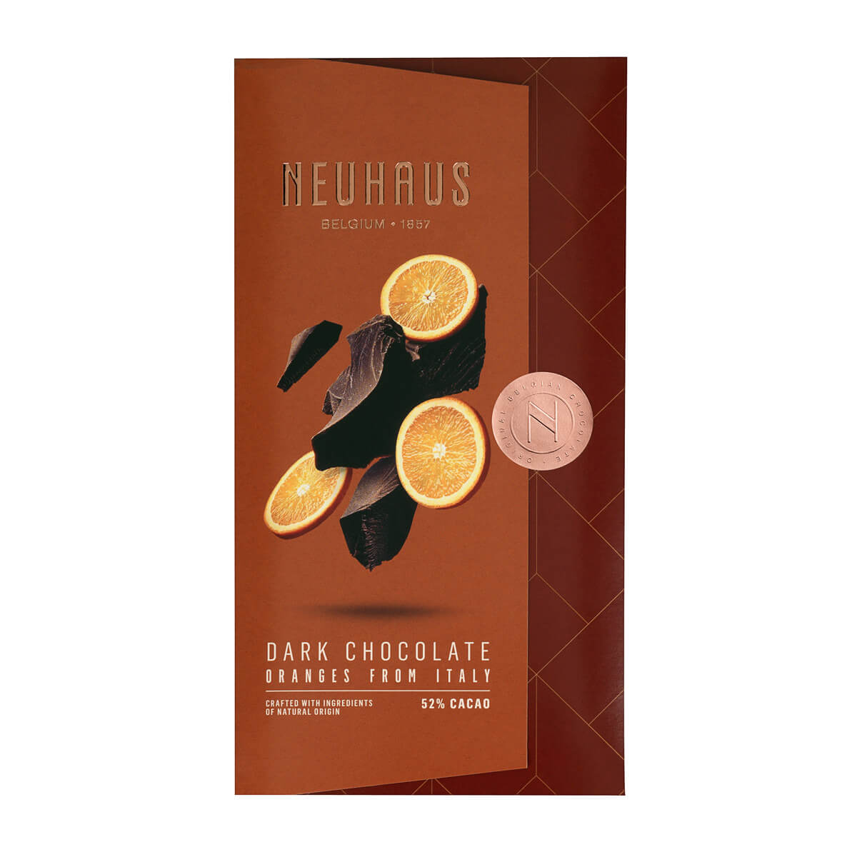 Neuhaus Tablet Pure chocolade Sinaasappel