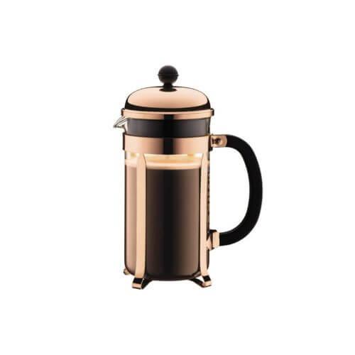 Bodum – Cafetière – Chambord – Copper – 8 Cups – 1 l