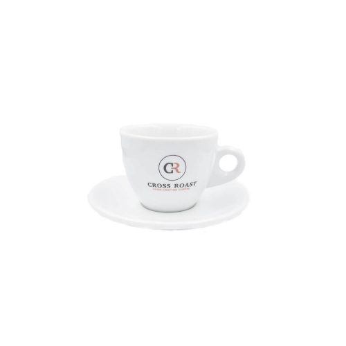 Cross Roast - Cappuccinotas met onderbord - 190 ml