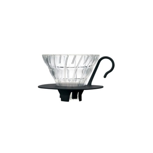 Hario - Dripper V60 - 02 - Glass black