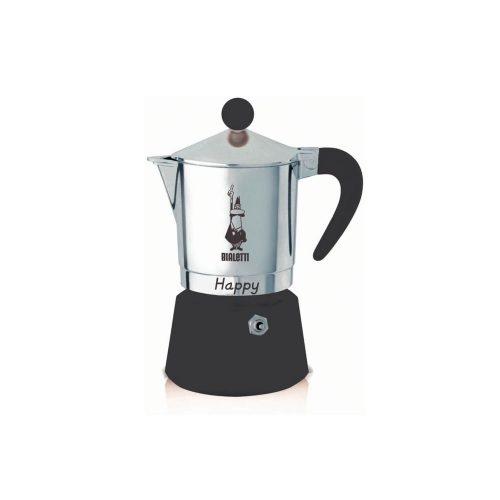Bialetti – Happy – Black – 3 Cups