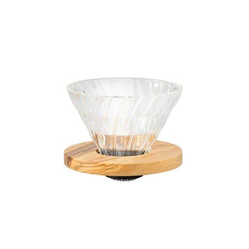 Hario - Dripper V60 - 02 - Olive Wood