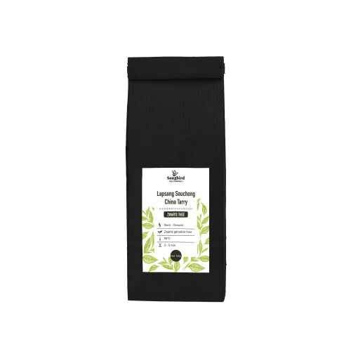 Zwarte thee - China Lapsang Souchong gerookte thee - 100 gr