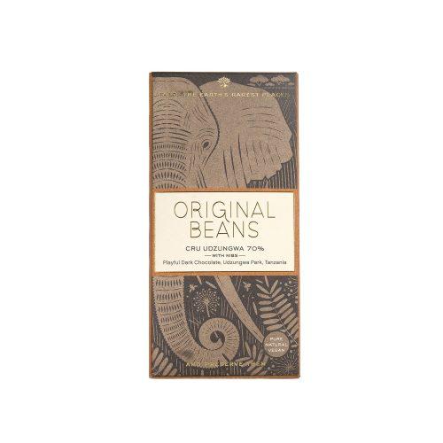 Original Beans - Cru Udzungwa - With Nibs - 70 %