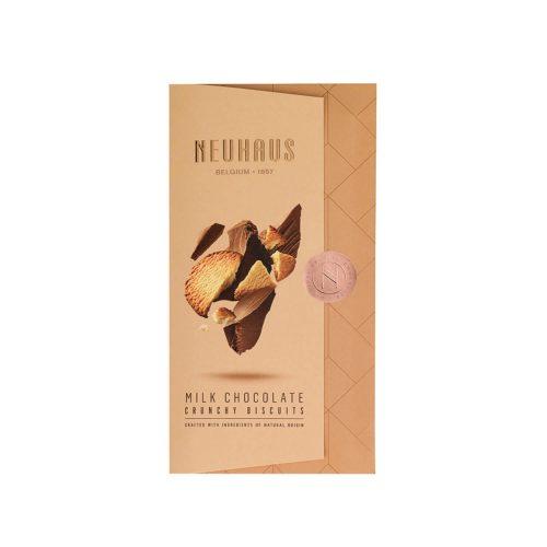 Neuhaus - Tablet - Melk chocolade - Crunchy Biscuits