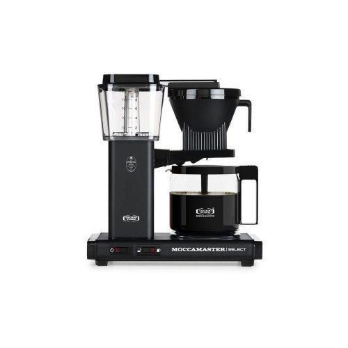 Moccamaster - koffiezetter - KBG Select - Matt Black