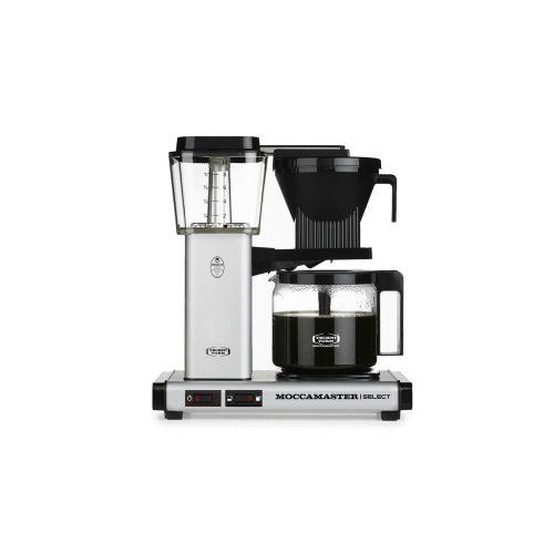 Moccamaster - koffiezetter - KBG Select - Matt Silver
