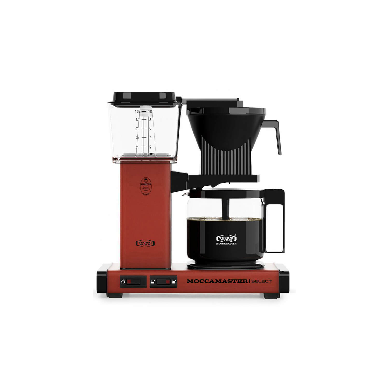 Moccamaster - Koffiezetter - Kbg Select - Brick Red