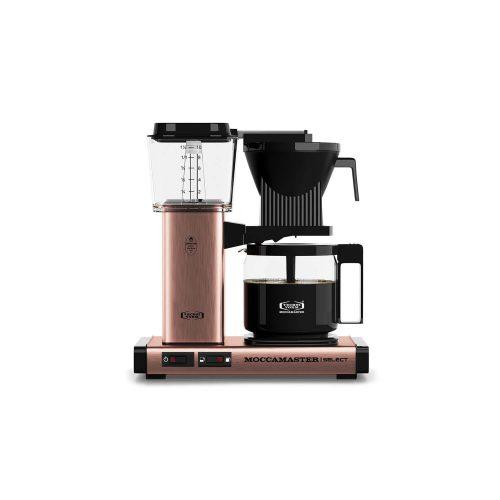 Moccamaster - koffiezetter - KBG Select - Copper