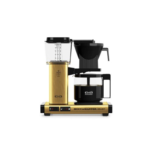 Moccamaster - koffiezetter - KBG Select - Brushed Brass
