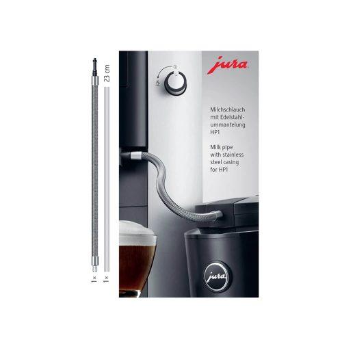Jura - Melkslang roestvrijstalen ommanteling - HP1