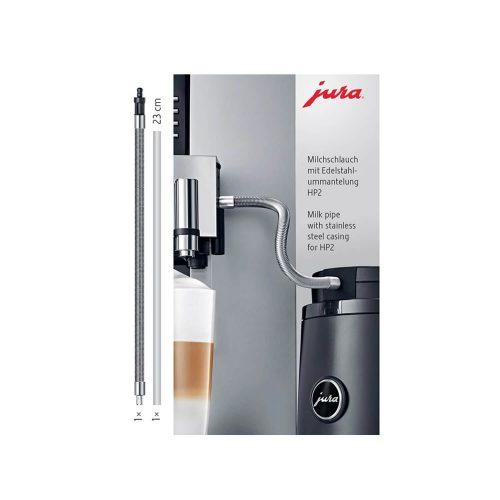 Jura - Melkslang roestvrijstalen ommanteling - HP2