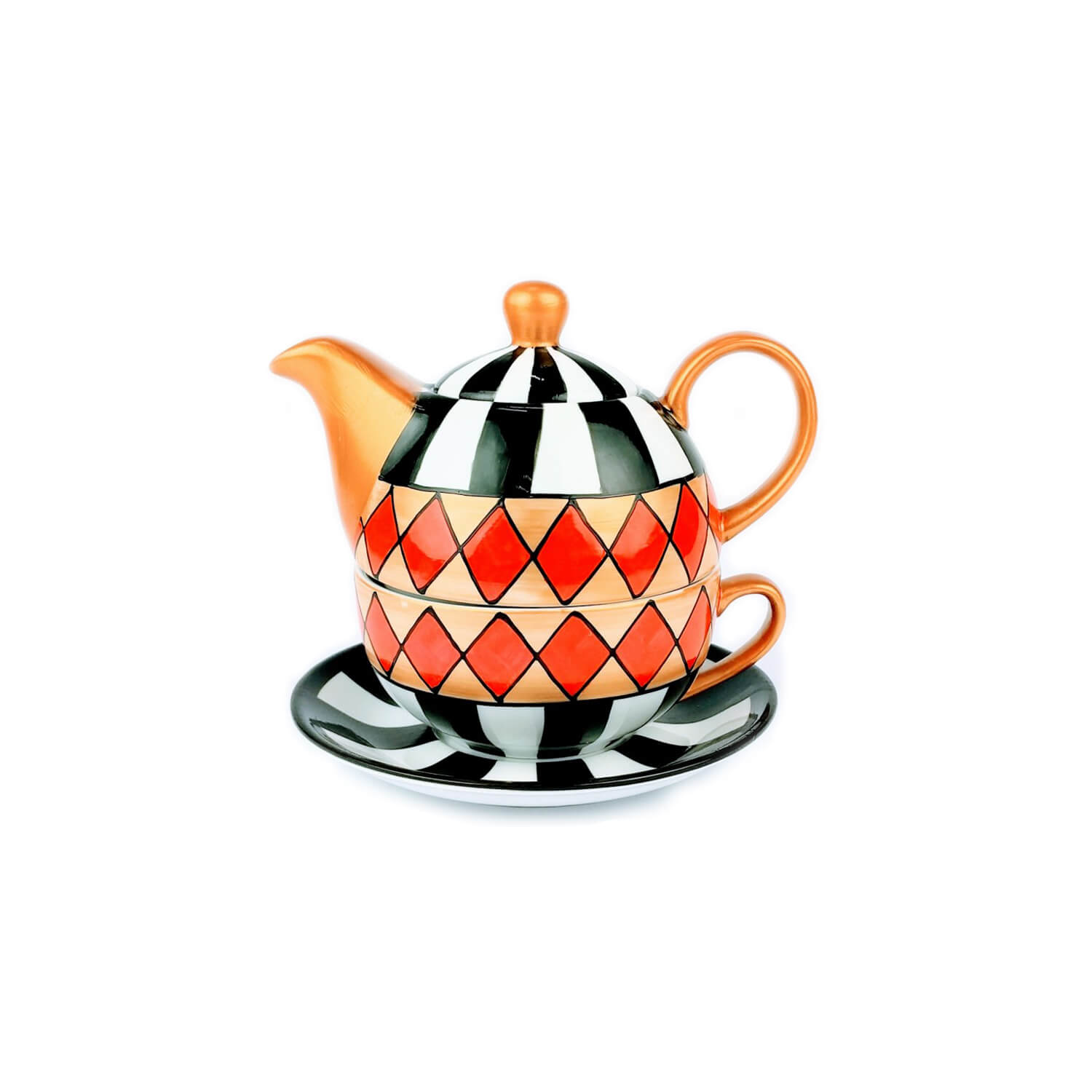 Theepot - Tea - For - One - Set - Harlekin