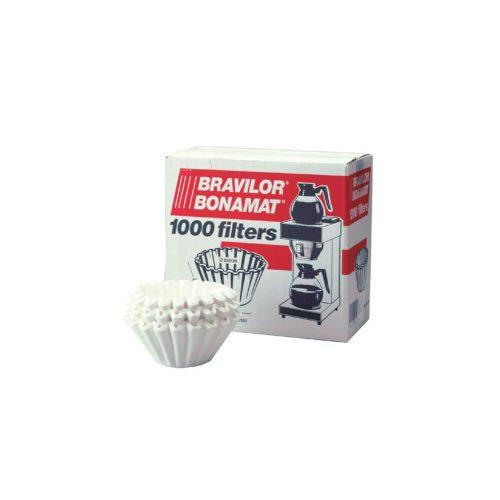 Bravilor - Filterpapier - 85/245mm - 250 st