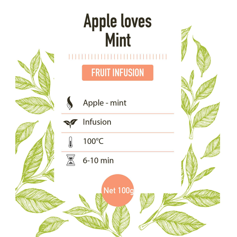 Fruit Infusie – Apple Loves Mint - Detail