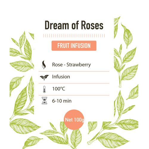Fruit Infusie – Dream Of Roses - Detail
