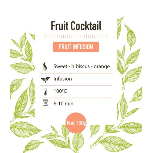 Fruit Infusie – Fruit Cocktail - Detail