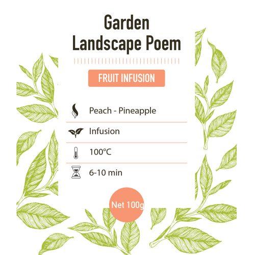 Fruit infusie – Landscape Poem - detail