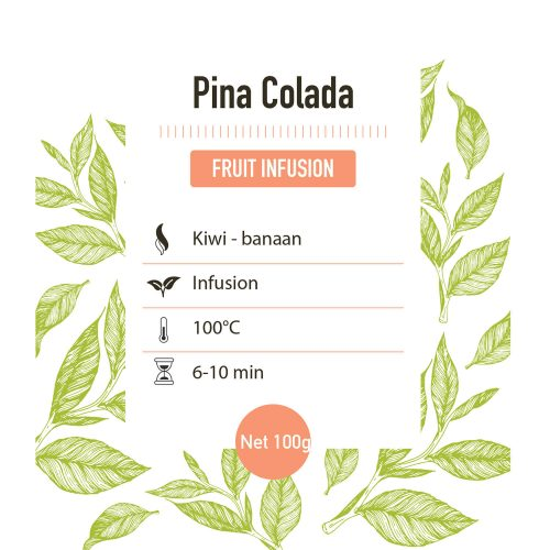 Fruit infusie – Pina Colada - detail