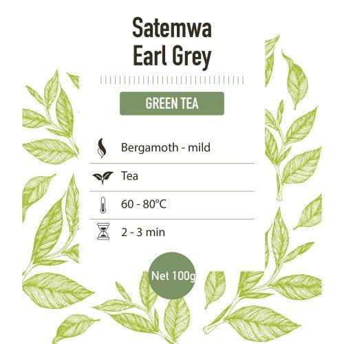 Groene thee – Earl grey green Satemwa - detail