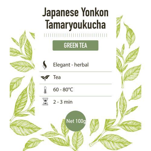 Groene thee – Japan tamaryoukucha yonkon - detail