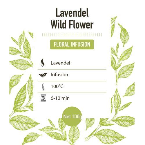 Kruiden Infusie – Lavendel - Detail