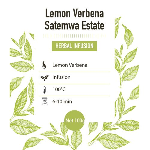 Kruiden infusie – Satemwa – Lemon Verbena - detail