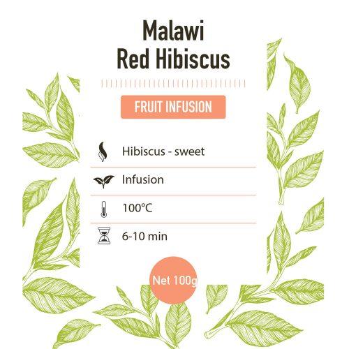 Kruiden infusie – Satemwa Red Hibiscus - detail